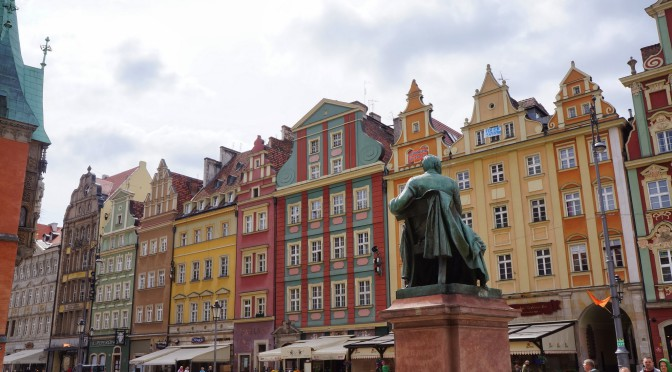 Путешествие по польскому городку Вроцлав